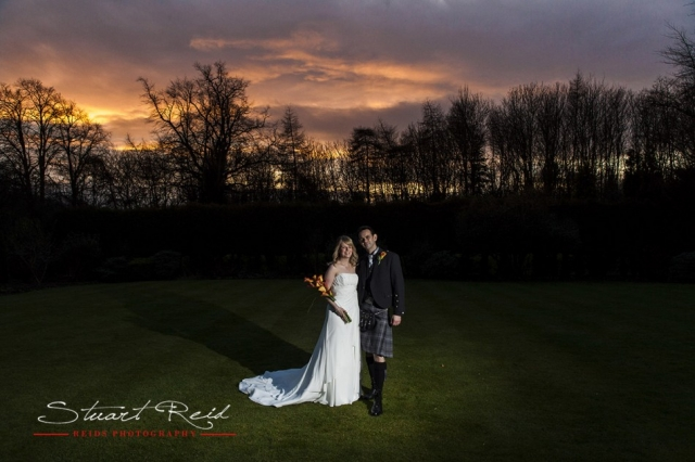 Balbirnie House Hotel Wedding Photography.