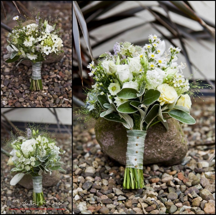 scottish wedding flowers photographs