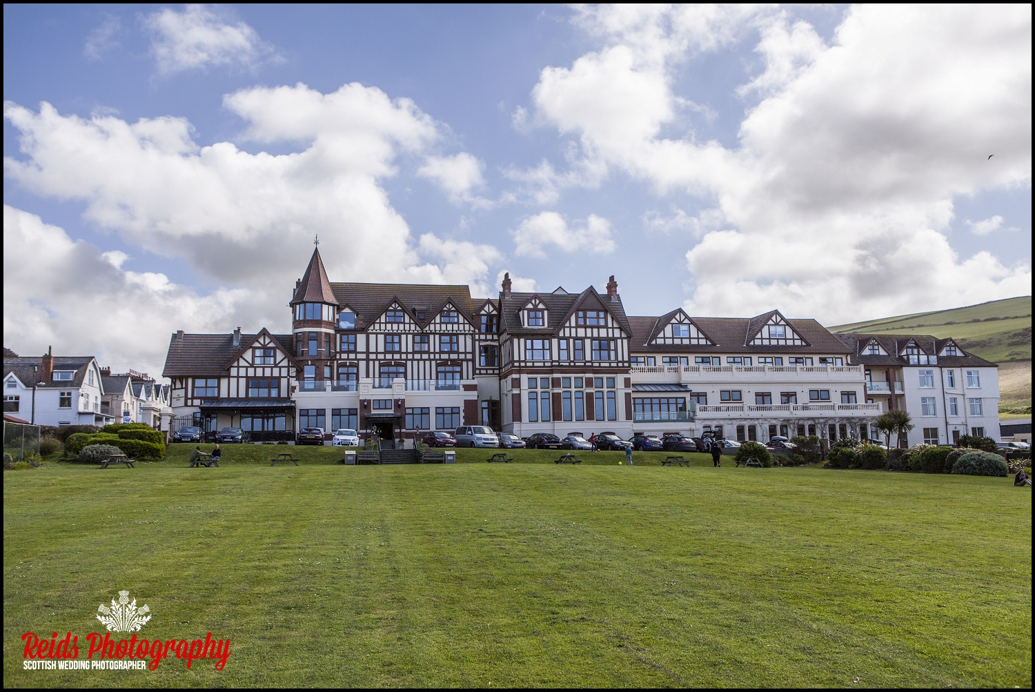 Mark and Ginny, woolacombe Bay Hotel Wedding