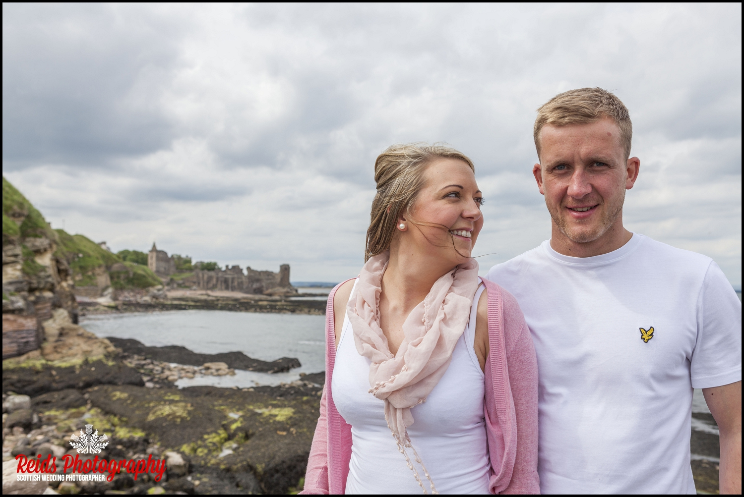 St Andrews Engagement Shoot